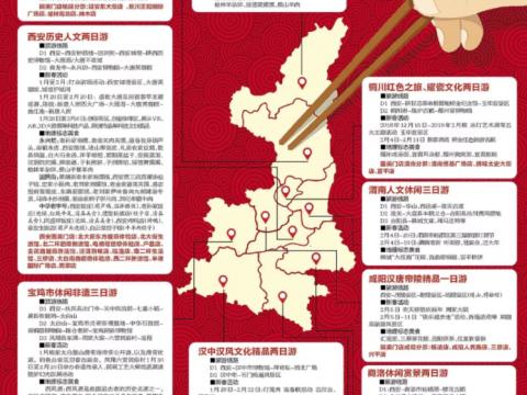 2019中国年味去哪儿找?这份最全陕西逛吃攻略请收好!