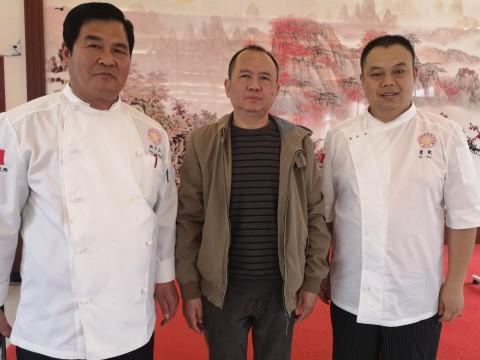 行政总厨来校为学生讲授厨艺人生之课